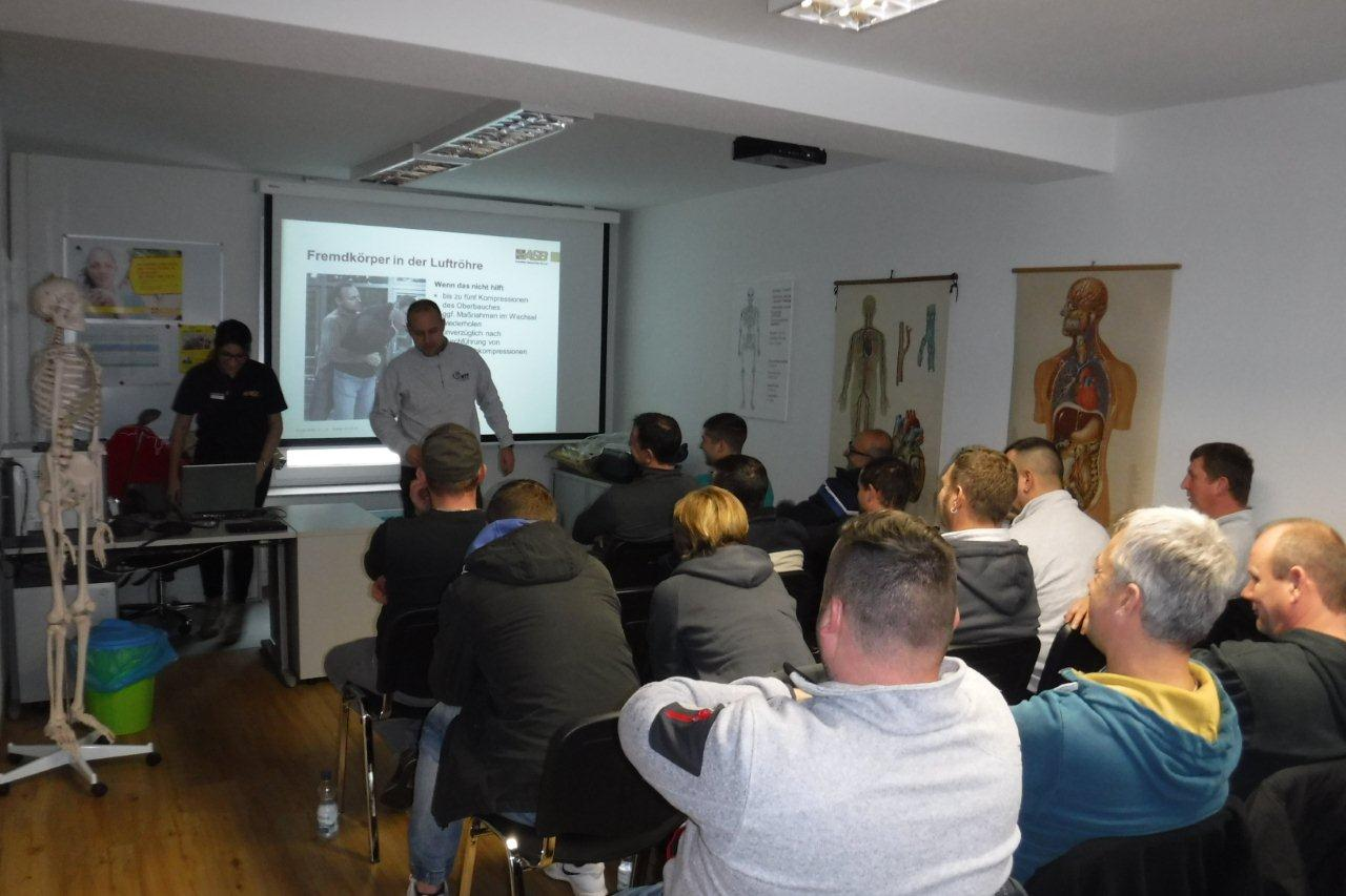 Erste-Hilfe-Kurs ASB Langenau